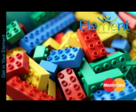 Debit Card Legos