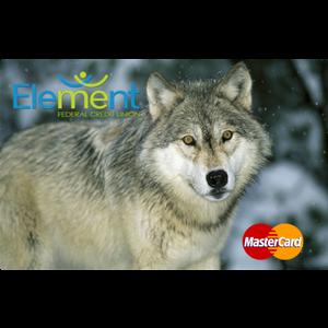 Debit Card Wolf